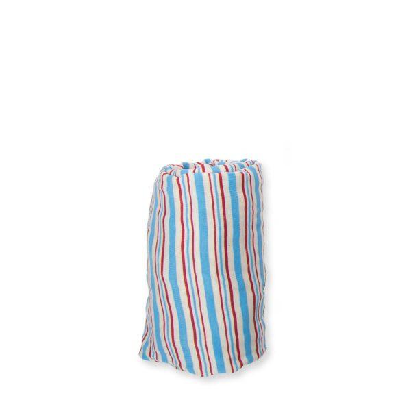 2424whitestripes 600x600 - סדין בודד לעריסה במבחר צבעים