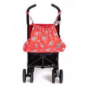7290016493085 2 300x300 - שק עגלה gitta Carryall פרחים על אדום