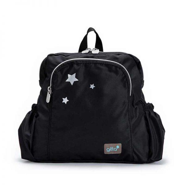 7290111690709 4 600x600 - תיק גן mini Ideal שחור 3 כוכבים