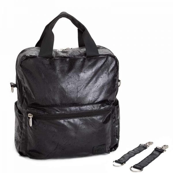 7290111690990 Black zipper 1 600x600 - gitta Basic שחור דמוי עור