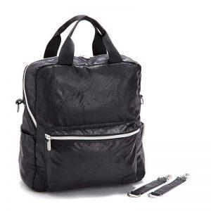 7290111690990 silver zipper 300x300 - gitta Basic שחור דמוי עור עם כסף