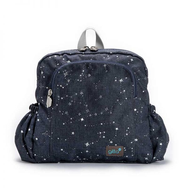 7290111691072 2 600x600 - תיק גן mini Ideal ג'ינס כהה גלקסיה