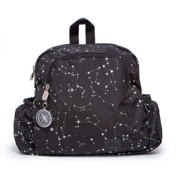 7290111691591 1 600x600 - תיק גן mini Ideal שחור גלקסיה