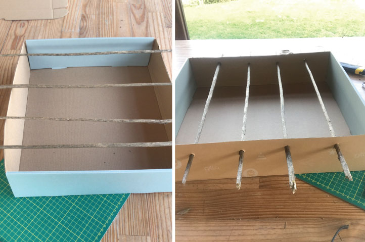 tutorial 1 - שימוש חוזר באריזות גיטה - DIY