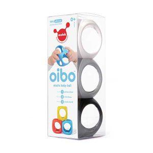 oibo 1 300x300 - צעצוע סנסורי Oibo - שלישייה שחור לבן
