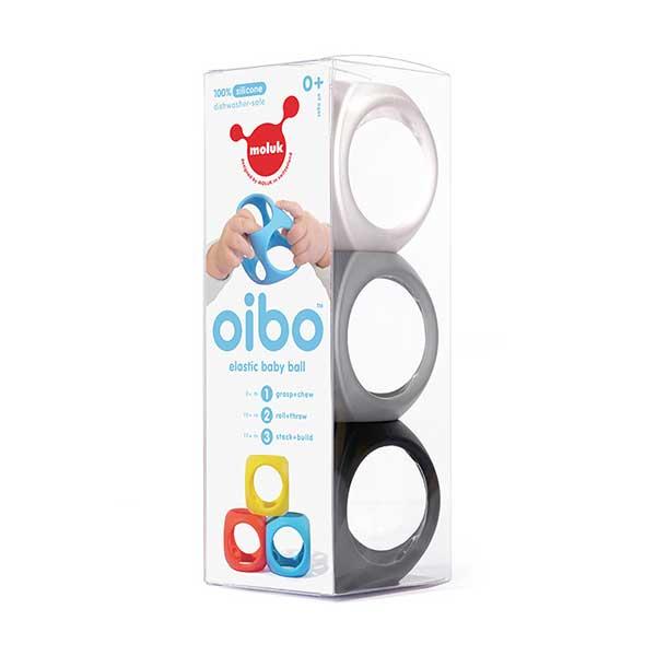 oibo 1 - צעצוע סנסורי Oibo - שלישייה שחור לבן