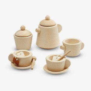 tea set 1b 300x300 - סט תה מעץ