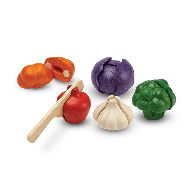 veggie set 1 - סט ירקות ב-5 צבעים
