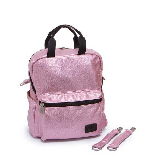 7290111691577 1n 600x600 - Mini Basic sparkling pink vegan leather
