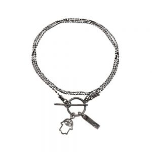 7290111692055 300x300 - gitta bijoux dark silver Hamsa bracelet