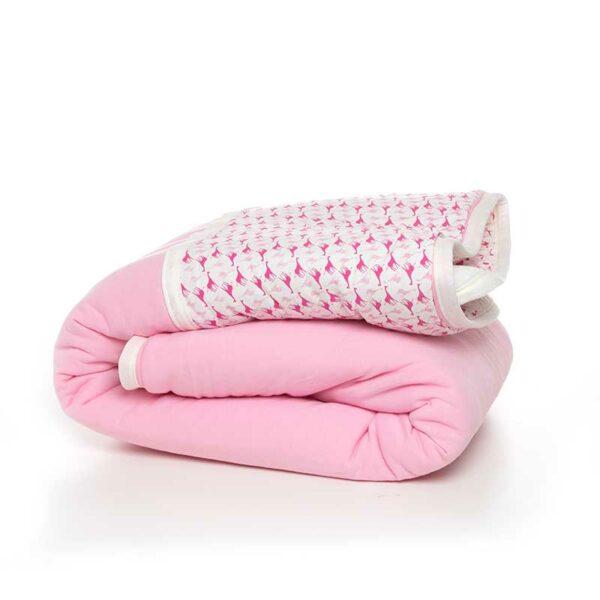 7290111690365 600x600 - gitta Large Duvet pink giraffes