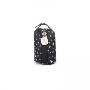 7290111691034 300x300 - gitta Pacifier Case black with silver stars