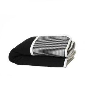 7290111692451 300x300 - gitta Small Duvet black stripes