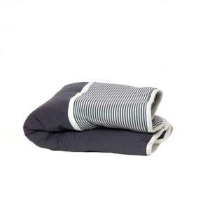 7290111692475 300x300 - gitta Small Duvet dark gray stripes