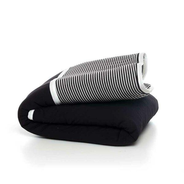 7290111692482 600x600 - gitta Large Duvet black stripes
