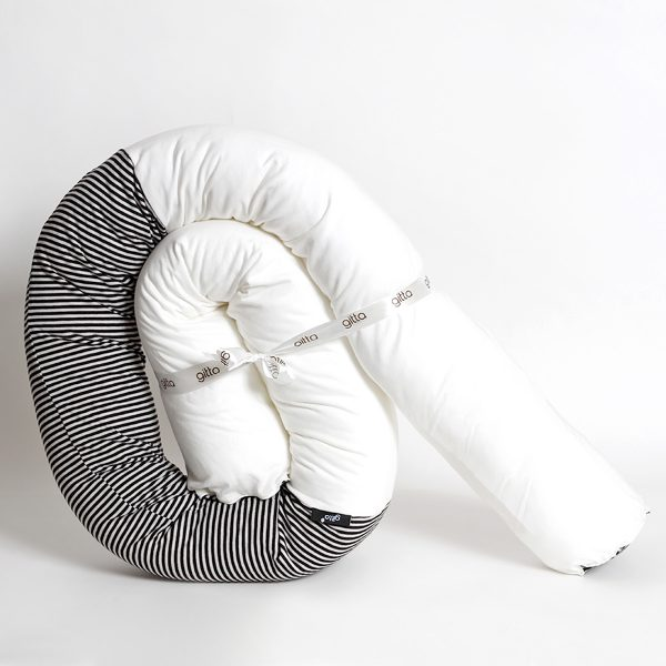 7290111692673 3 600x600 - Newborn snake pillow black stripes