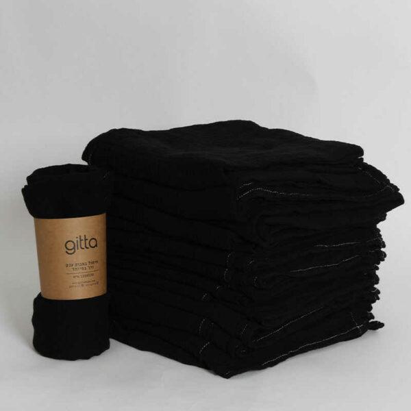 7290111692680 1 optimized 600x600 - Tie dye bamboo swaddle wrap black