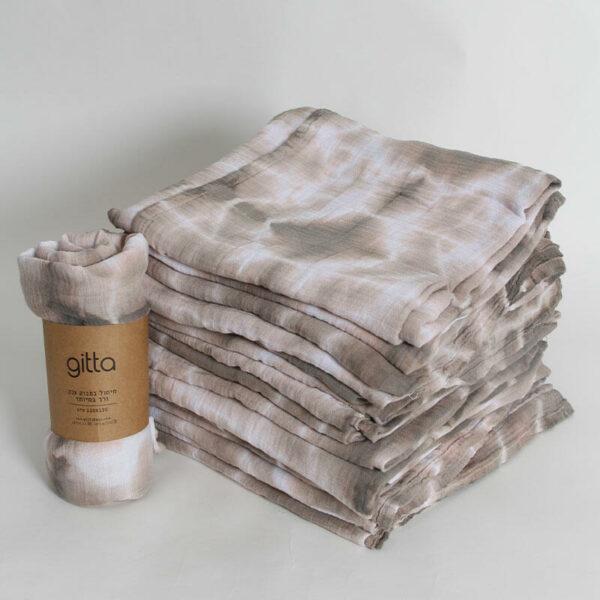 7290111692734 1 optimized 600x600 - Tie dye bamboo swaddle wrap camel swirl