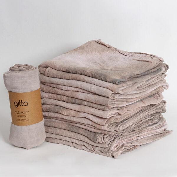7290111692741 600x600 - Tie dye bamboo swaddle wrap camel tints