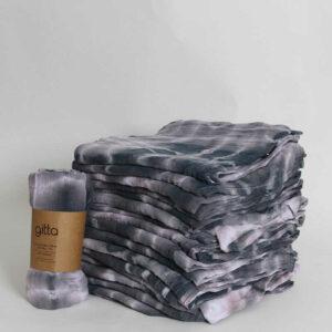 7290111692772 300x300 - Tie dye bamboo swaddle wrap charcoal swirl