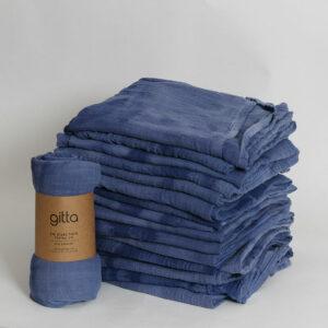 7290111692826 1 300x300 - Tie dye bamboo swaddle wrap dark blue tints