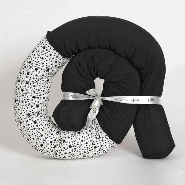 7290111692918 600x600 - Newborn snake pillow light black stars