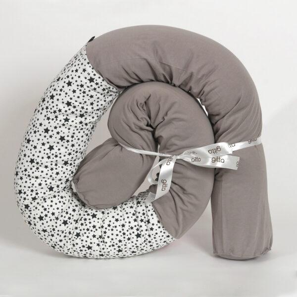 7290111692925 600x600 - Newborn snake pillow light gray stars